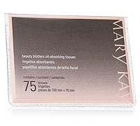 Image of Mary Kay oil blotting tissues