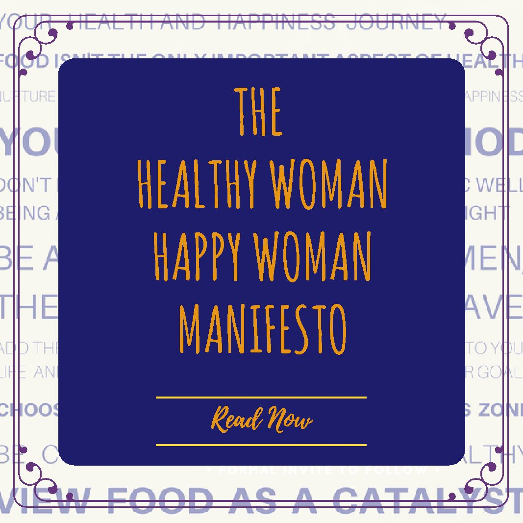 Healthy Woman Happy Woman square link
