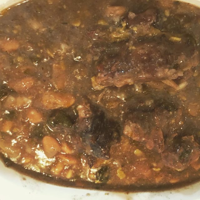 oxtailsoup with butterbeans eatwell healthcoach healthywomanhappywoman