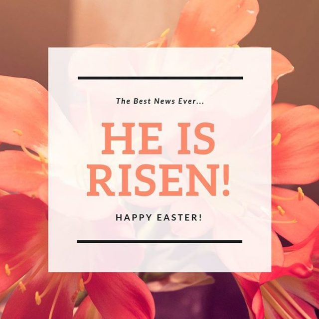 Happy Easter everyone!