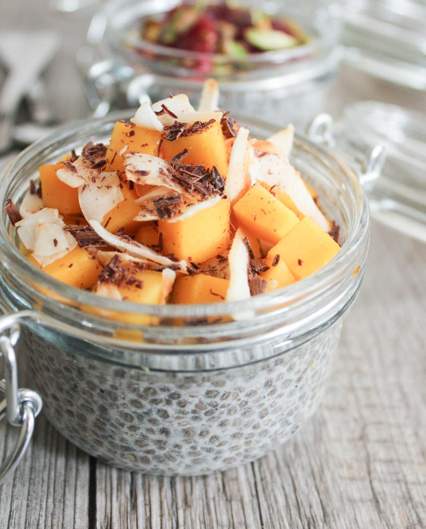 image of chia seed pudding - ideal breakfast for big health wins