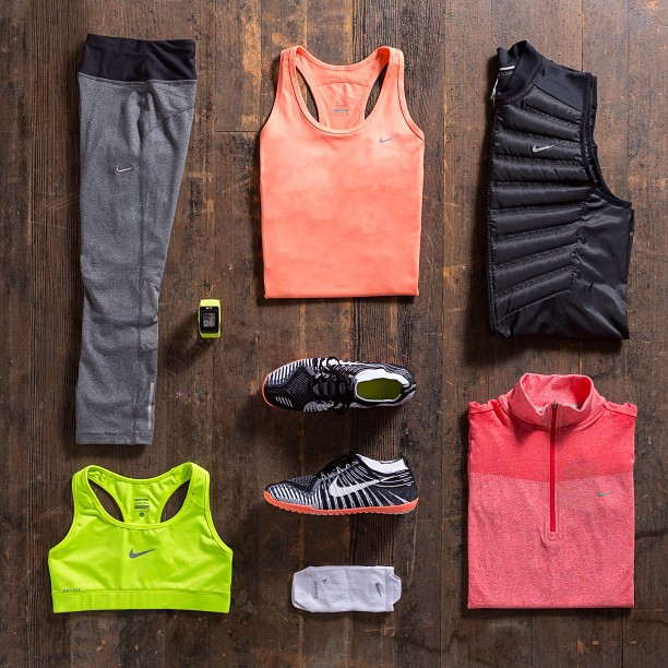 image of workout clothes prepared to achieve big health wins