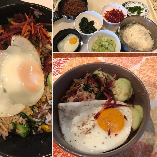 Finally tried out a version of bibimbap courtesy budgetbytes Thishellip