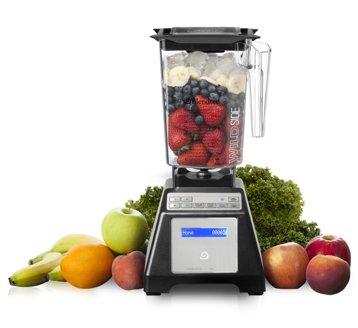 image of blendtec with fruit for healthy meal prep
