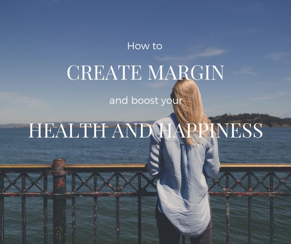 image of woman enjoying water - create margin