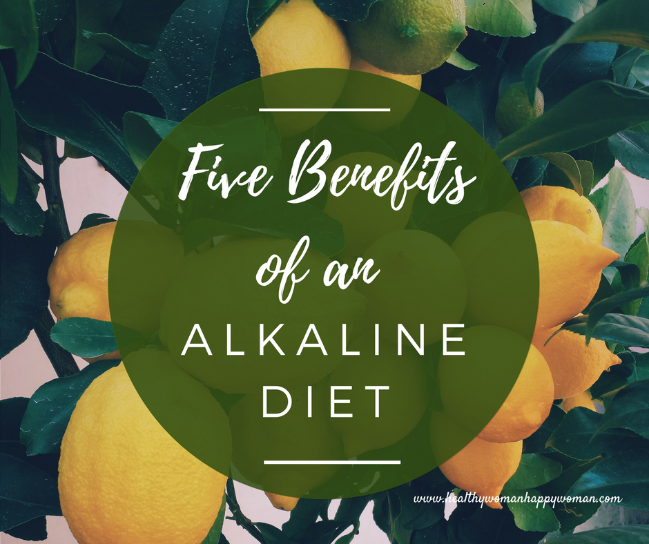 image of lemons - alkaline diet