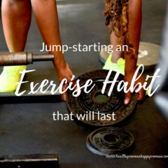 Jump-starting an exercise habit that will last
